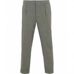 Barena Nitro Pleated Trousers Light Grey