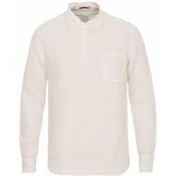Barena Pavan Popover Linen Shirt White
