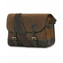 Baron Country Tote Brown Suede