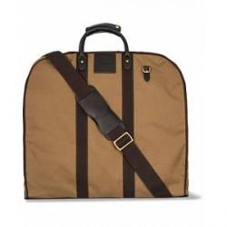 Baron Travel Garment Bag Khaki Canvas