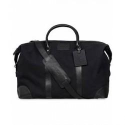Baron Weekendbag Black Canvas