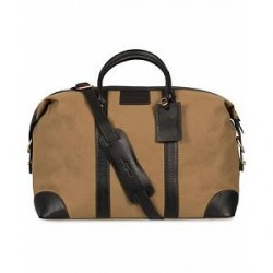 Baron Weekendbag Khaki Canvas
