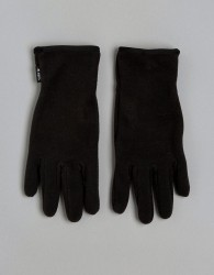 Barts Gloves With Palm Silicone Print - Black