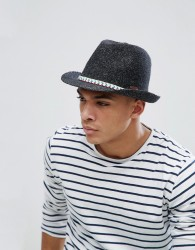 Barts Quest Summer Trilby Hat - Black