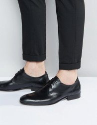 Base London Business Leather Oxford Shoes - Black