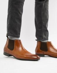 Base London Croft chelsea boots in tan - Tan