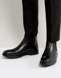 Base London Dalton Leather Chelsea Boots - Black