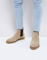 Base London Ferdinand Suede Chelsea Boots - Beige