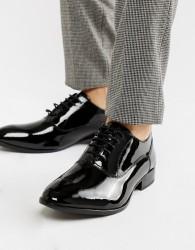 Base London Holmes patent oxford shoes - Black