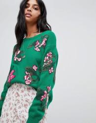 BA&SH Knit Jumper - Green