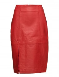 Beate Leather Skirt