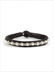 BeChristensen - Annika Facet Silver Beads Black - Silver