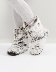 Bedroom Athletics Cole Lux Short Faux Fur Boot - Grey