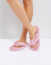 Bedroom Athletics Erica Thong Slipper - Pink