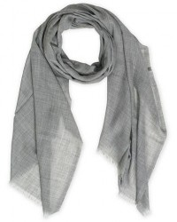 Begg & Co Wispy Cashmere Scarf Mid Grey men One size Grå