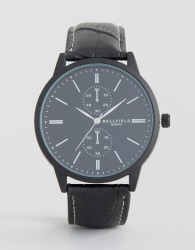 Bellfield Black Watch with Imitation Inner Dials - Black