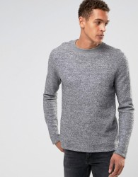 Bellfield Felt Sweatshirt - Grey