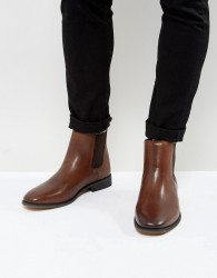 Bellfield Leather Chelsea Boots - Brown