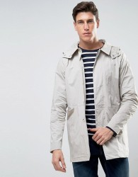 Bellfield Mac with Detachable Hood - Grey