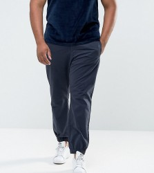 Bellfield PLUS Cuffed Chinos In Navy - Navy