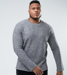Bellfield PLUS Felt Sweatshirt - Grey