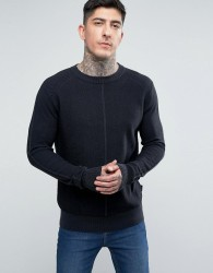 Bellfield Rib Jumper - Grey