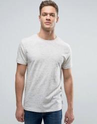 Bellfield T-Shirt In Slub - White