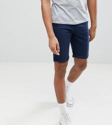 Bellfield TALL Chino Shorts In Navy - Navy