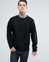 Bellfield Wool Blend Sweatshirt - Black