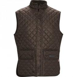 Belstaff C50N0192 WAISTCOAT vest Mahogany