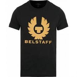 Belstaff Cranstone Logo Crew Neck Tee Black