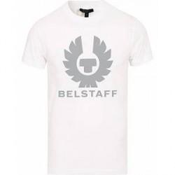 Belstaff Cranstone Logo Crew Neck Tee White