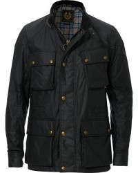Belstaff Fieldmaster Waxed Jacket Black men 50
