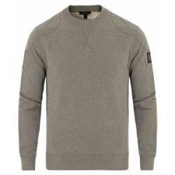 Belstaff Jefferson Crew Neck Sweatshirt Grey Melange