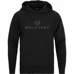 Belstaff Northview Logo Hoodie Black
