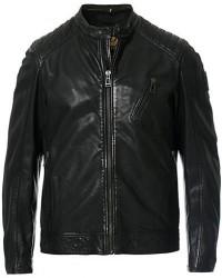 Belstaff V Racer 2.0 Leather Jacket Black men 50 Sort