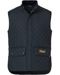 Belstaff Waistcoat Quilted Dark Navy men 50 Blå