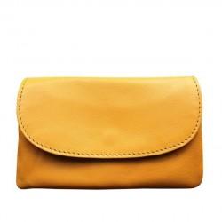 BEMÆRK: 8 FARVEVARIANTER. Style Nova: Skøn pung i dejligt blødt skind