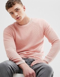 Bershka Knitted Jumper In Pink - Pink