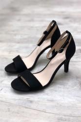 Bianco - Sko - Low Basic Sandal - Black