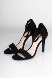 Bianco - Stiletter - Basic Sandal Heel - Black