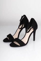 Bianco - Stiletter - Basic Sandal Heel - Black