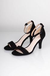 Bianco - Stiletter - Low Basic Sandal - Black