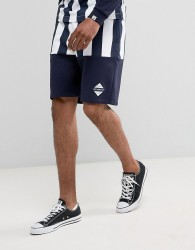 Billionaire Boys Club Shorts With Stripes - Navy