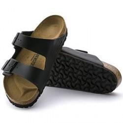 Birkenstock Arizona Birkoflor Soft Footbed - Black - Normal43