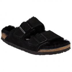 Birkenstock Arizona Fur - Black * Kampagne *