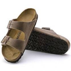 Birkenstock Arizona leather - Beige - Smal 39