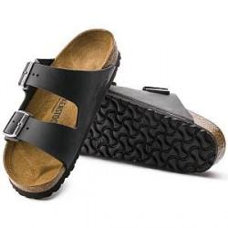Birkenstock Arizona leather - Black - Normal40