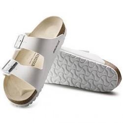 Birkenstock Arizona White Leather - White - Smal 38
