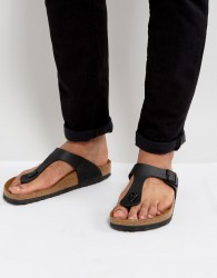 Birkenstock Gizeh Sandals in Black - Black